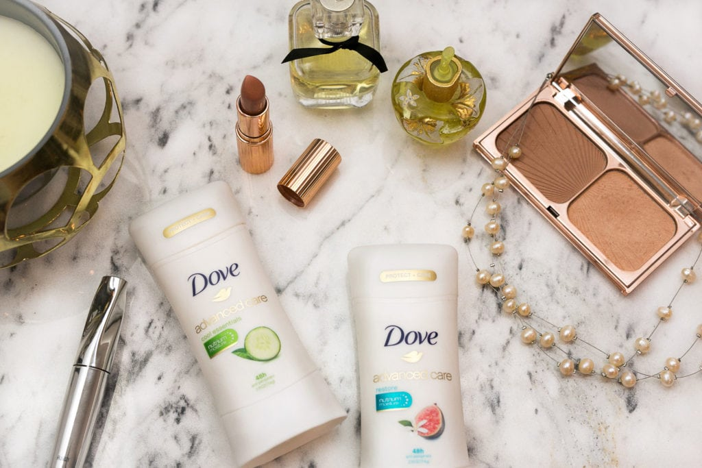 Switch to Dove Advanced Care Antipersperiant | Atsuna Matsui