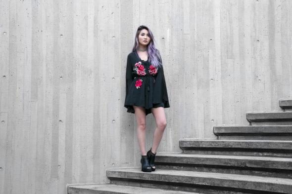 Floral Romper | Atsuna Matsui
