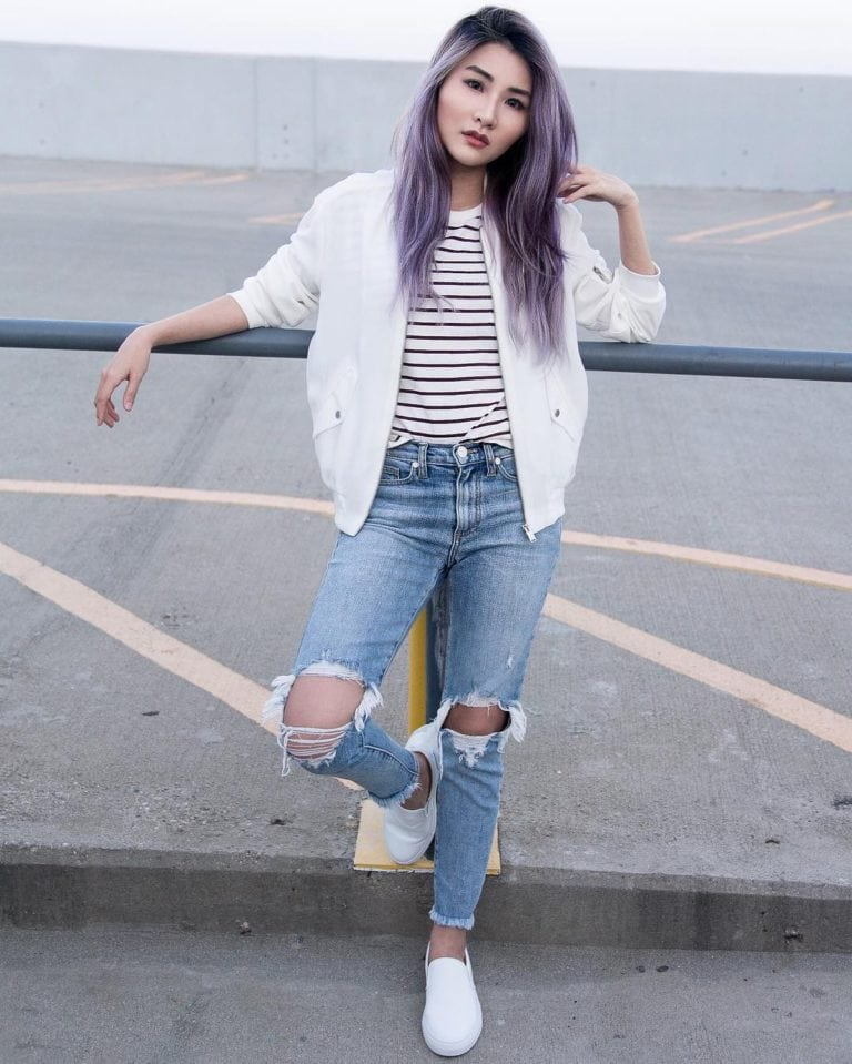 Casual Day with Sync Denim Jeans   Atsuna Matsui
