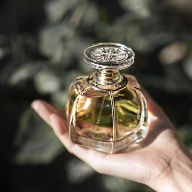livinglalique fragrance that opens with notes of nutmeg vanilla andhellip