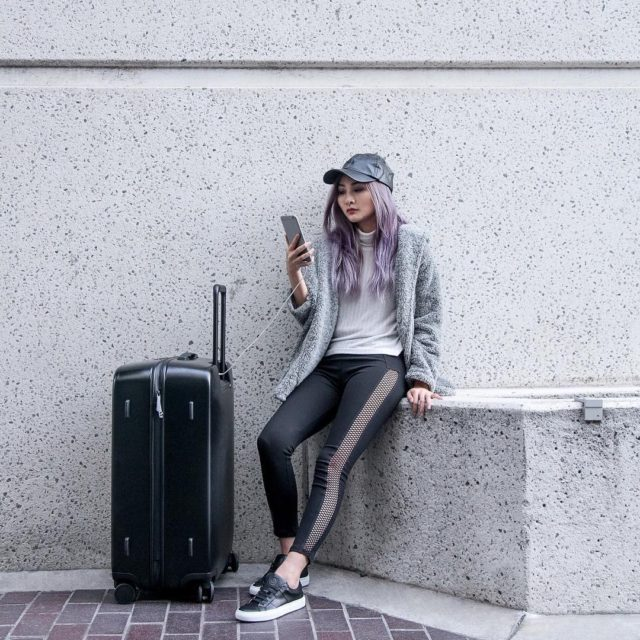Traveling made easy with this super hightech suitcase by radenhellip