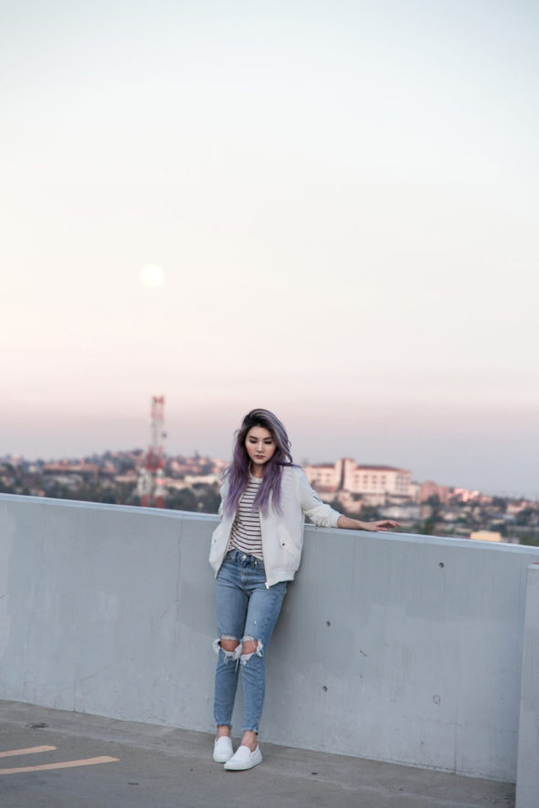 Casual Day with Sync Denim Jeans | Atsuna Matsui