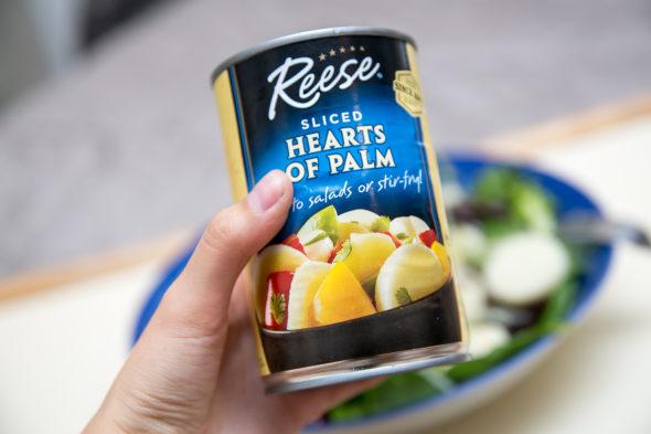 Lemony Hearts of Palm Salad | Atsuna Matsui
