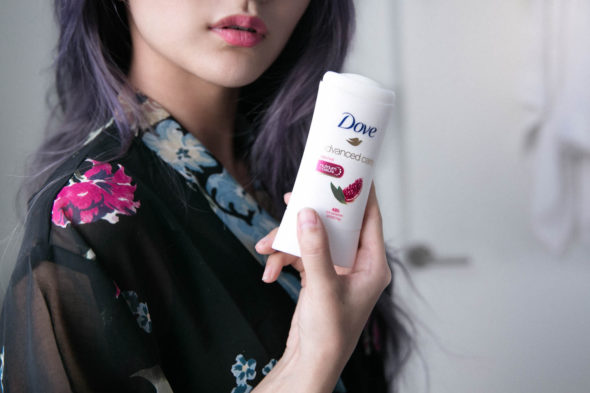Winter Skincare Survival with Dove | Atsuna Matsui