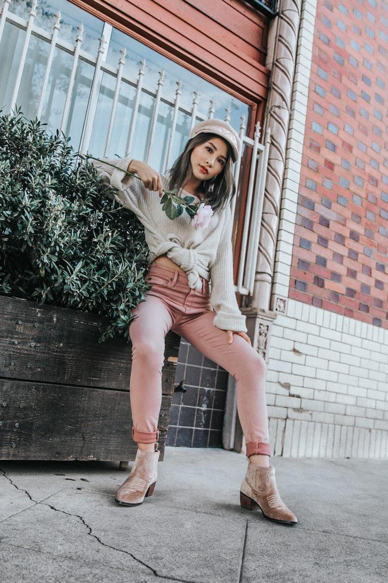 Blush AG Jeans for Fall | Atsuna Matsui